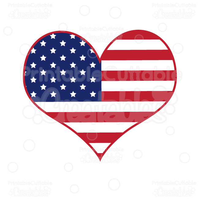 heart american flag u201d svg cut files clipart includes svg cutting rh pinterest com american flag clip art pictures american flag clip art pictures