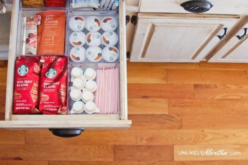 Geniale küche, die ideen aus dem dollar-laden organisiert - organisation besessen