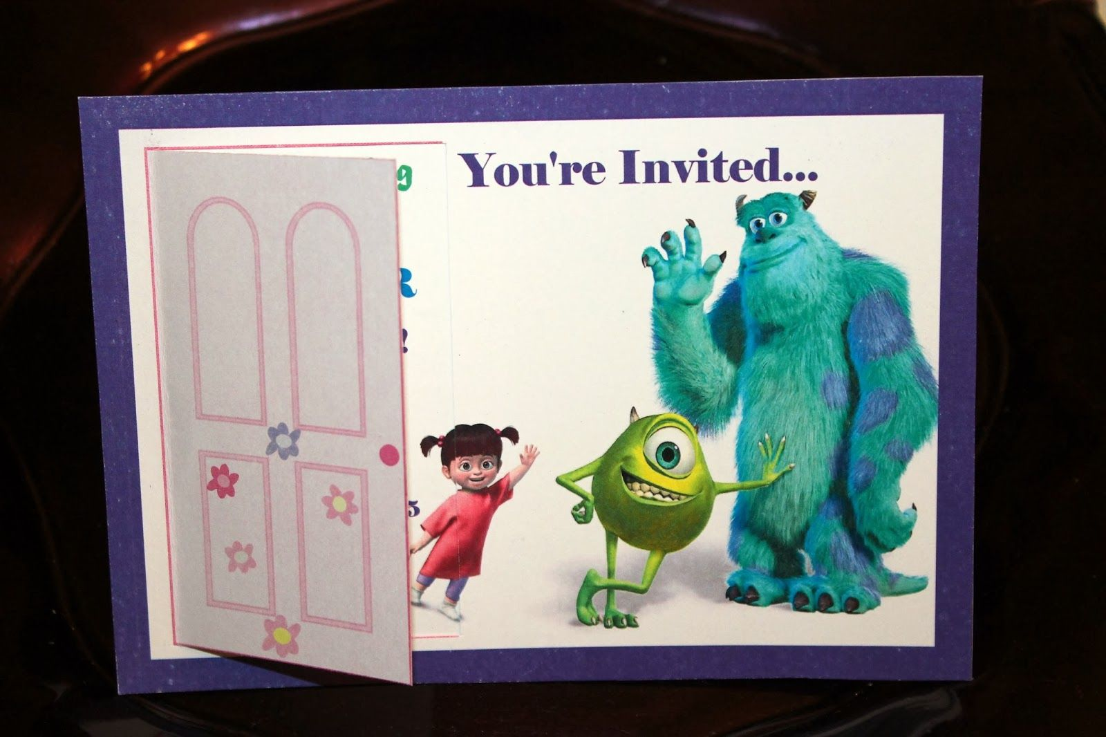 Monsters, Inc. Birthday Invitation_Monsters, Inc. Birthday Party ...