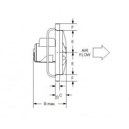 Extraction Fan CAD dwg | Cad library | Cad blocks free, Cad