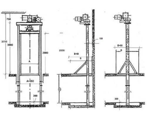 Como Construir Un Montacargas Como Construir Diseno De Ascensor Escaleras Para Casas Pequenas