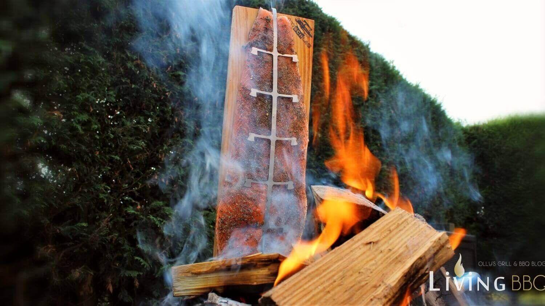 Flammlachs Aus Der Feuerschale Vom Axtschlag Flammlachs-brett ... Italienische Feuerschale Ak47