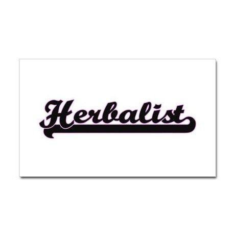 Herbalist Classic Job Design Sticker