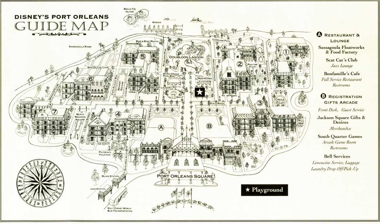 This is a graphic of Dynamic Map of New Orleans French Quarter Printable