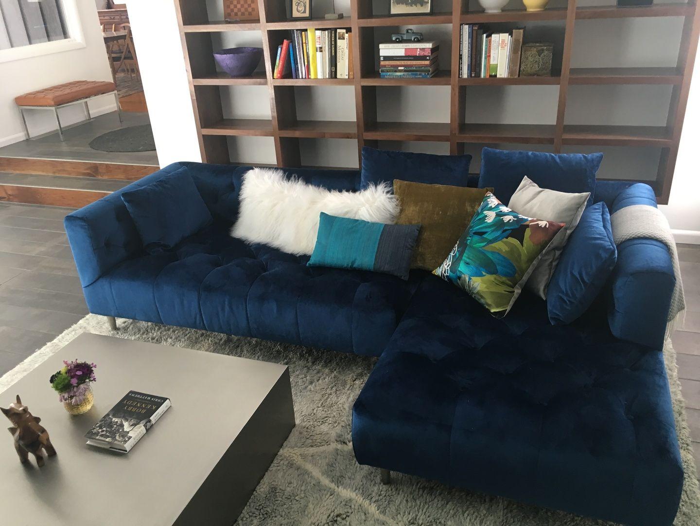 Ms. Chesterfield Custom Sofa