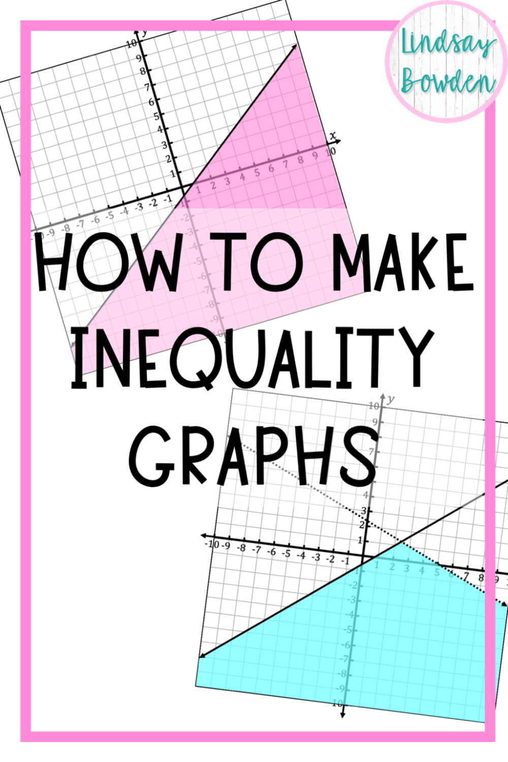 How to Make Inequality Graphs for Math Worksheets
