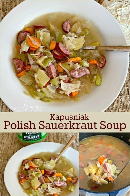 Photo of Polish Sauerkraut Soup (Kapusniak) – A family favorite for genertations!