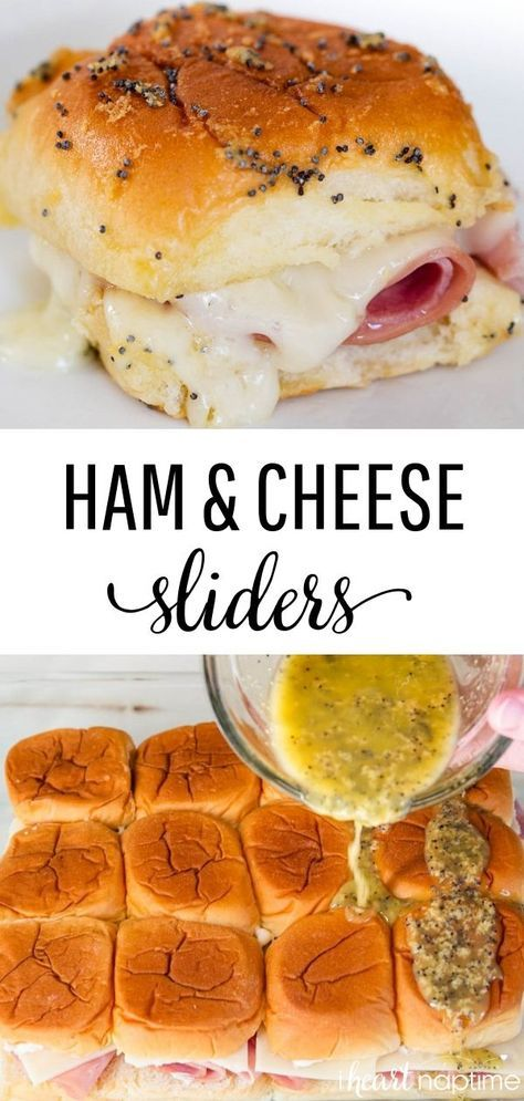 Photo of EASY Ham and Cheese Sliders with Poppyseed Sauce – I Heart Naptime