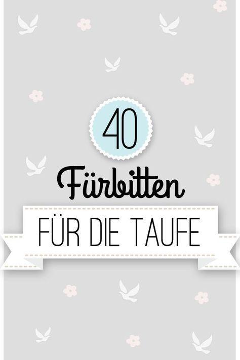 40 Ideen für Fürbitten zur Taufe und ein wunderschönes Taufgebet   familie.de