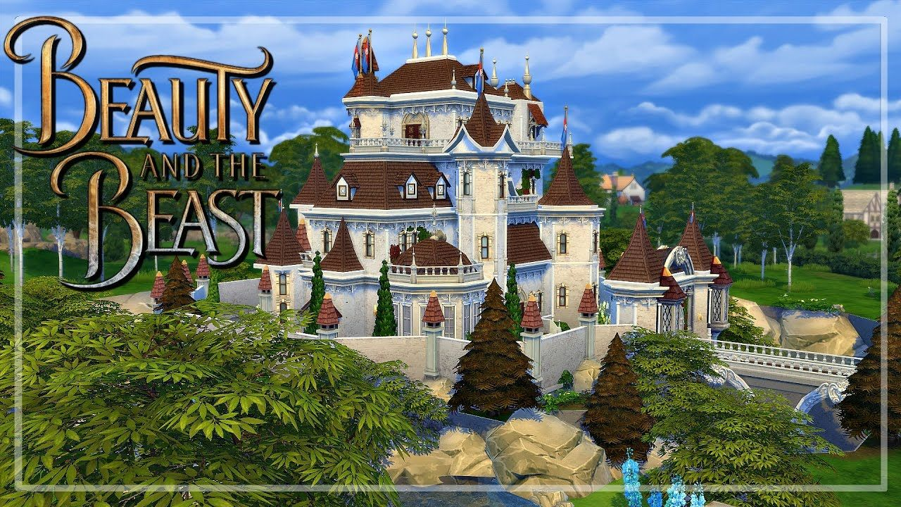 The Sims 4: Speed Build - Beauty and the Beast Castle