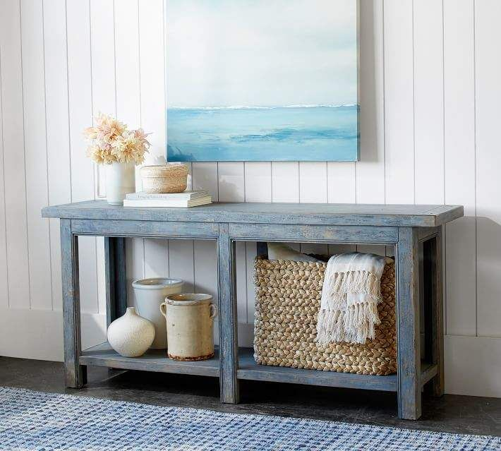 Love This Entryway Entrytable Rustic Ad Blue