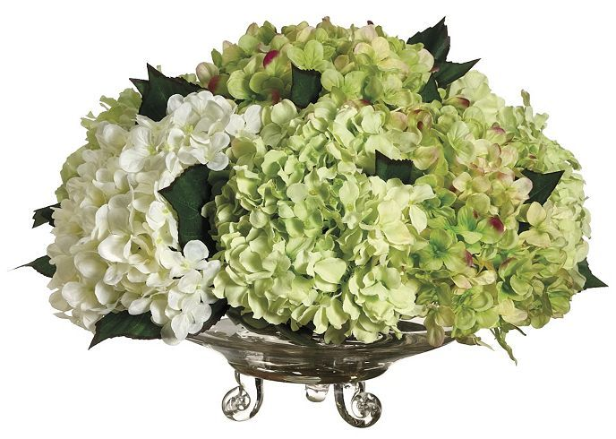 hydrangea floral | Havertys Furniture