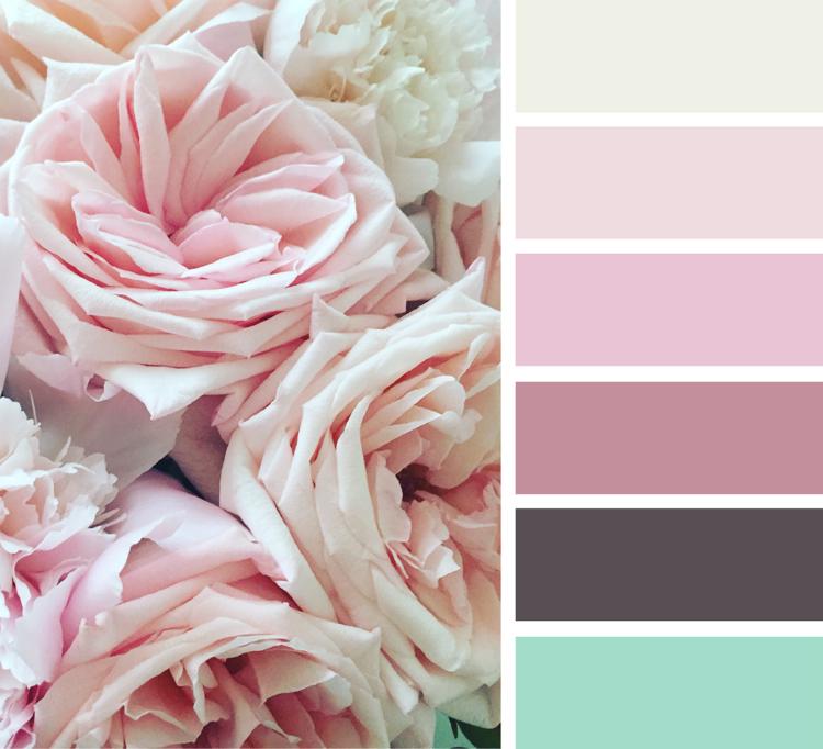 Farbe Puderrosa Richtig Kombinieren Ideen Zum Wohnen Und Stylen Rose Wandfarbe Puder Rosa Farbkombinationen