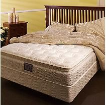 Softside Waterbed Mattress Top And Base Queen Water Bed Bed Frame Headboard Footboard