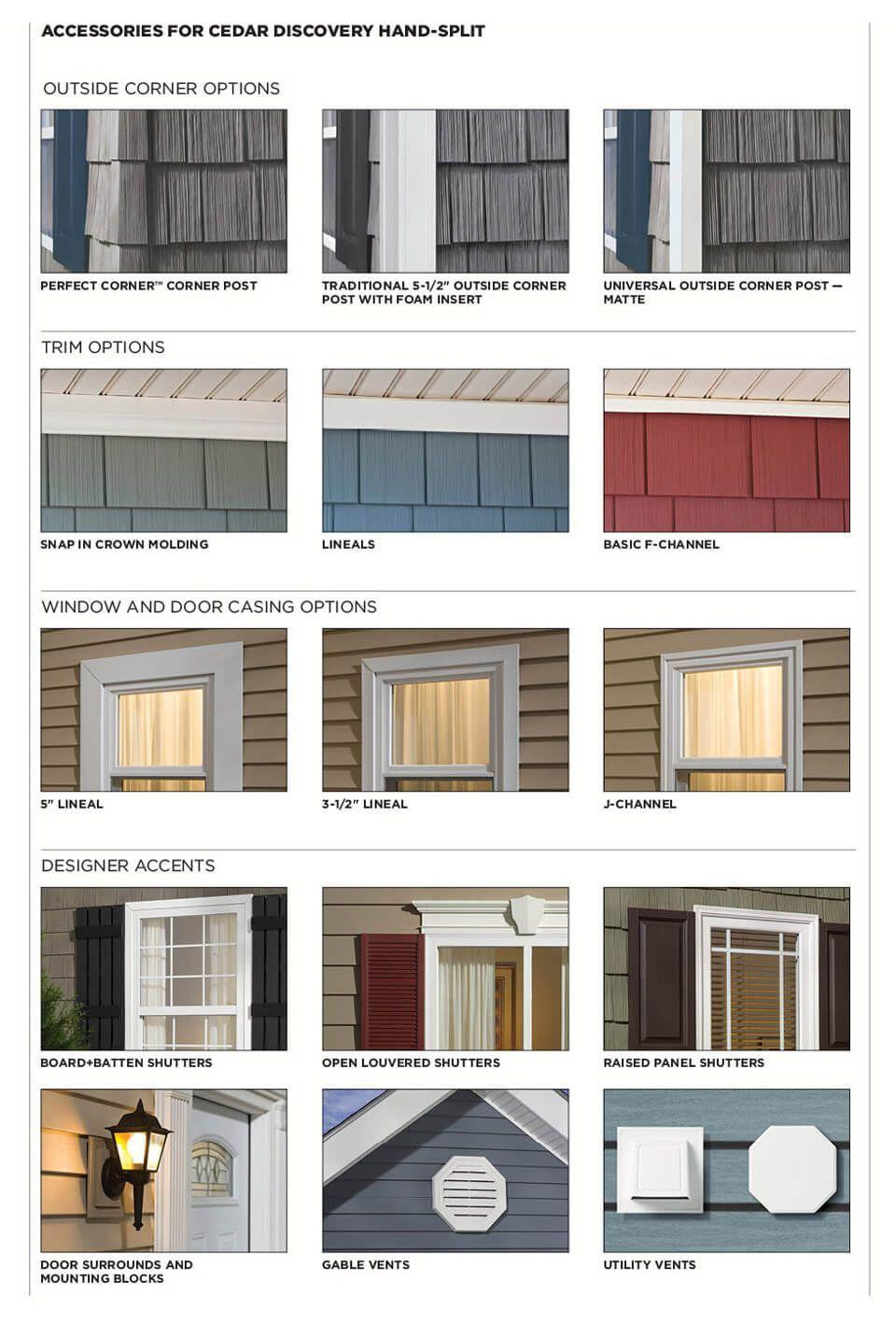 Cedar Discovery Shingle Siding Exterior House Colors Vertical Vinyl Siding