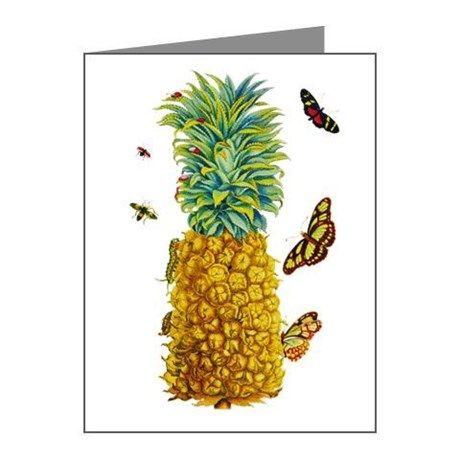 Maria Sibylla Merian Botanical Note Cards (Pk of 2