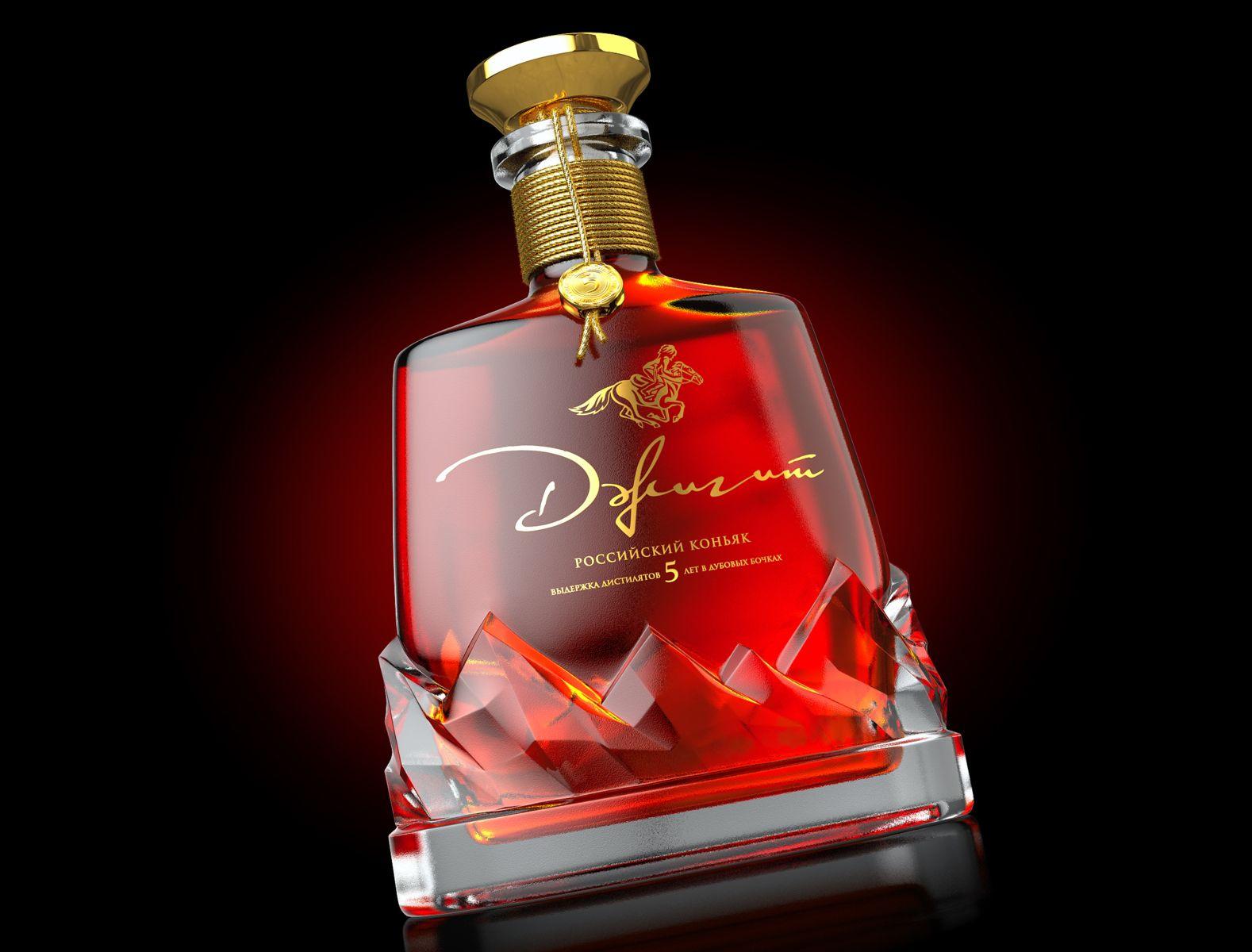 Jigit Brandy On Packaging Of The World Creative Package Design Gallery In 2020 Bottle Design Wine Label Design Whiskey Packaging