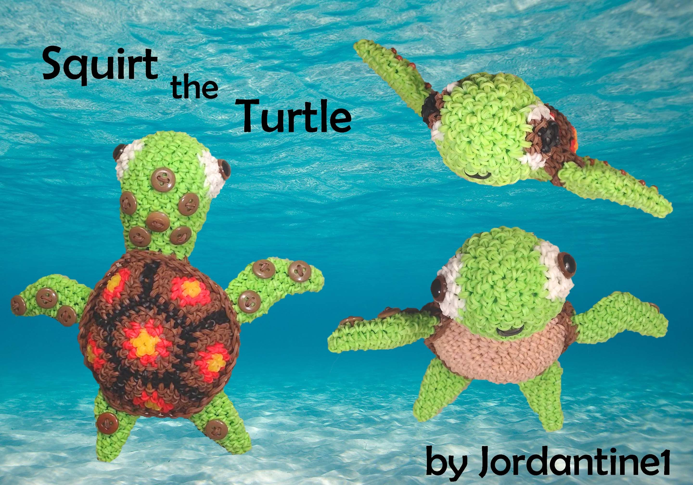 how to make a loom band turtle