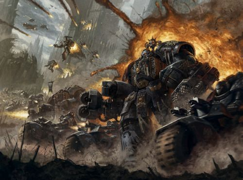 Warhammer 40k Raven Guard Space Marine Chapter by BMacSmith