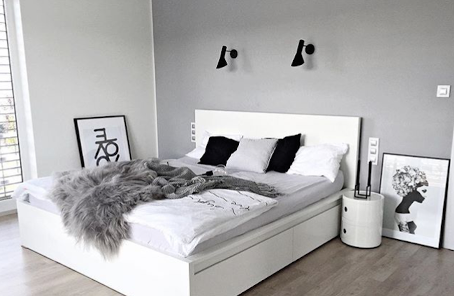scandinavian design bedroom kartell ikea malm schlafzimmer in 2019 pinterest. Black Bedroom Furniture Sets. Home Design Ideas