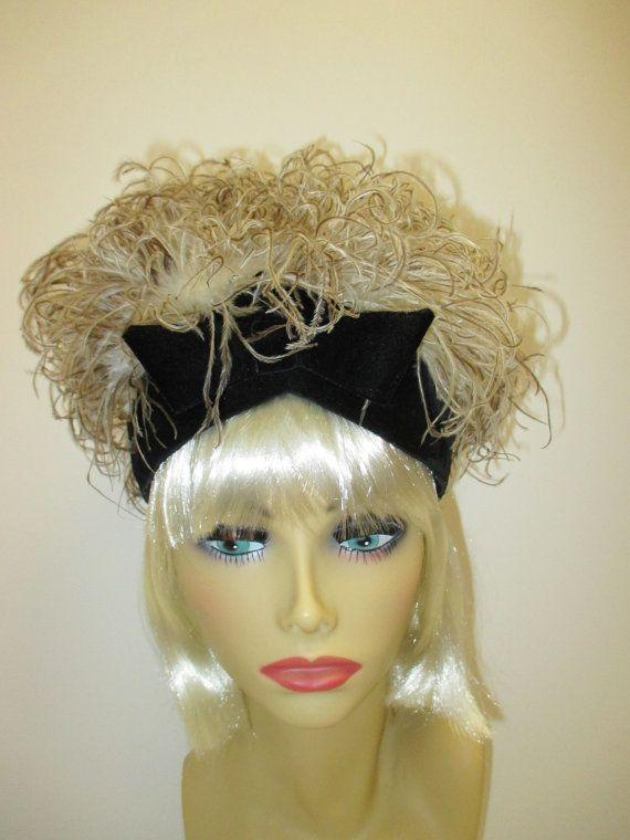9f34ee6e5af Jacques Heim 1960 s feather hat
