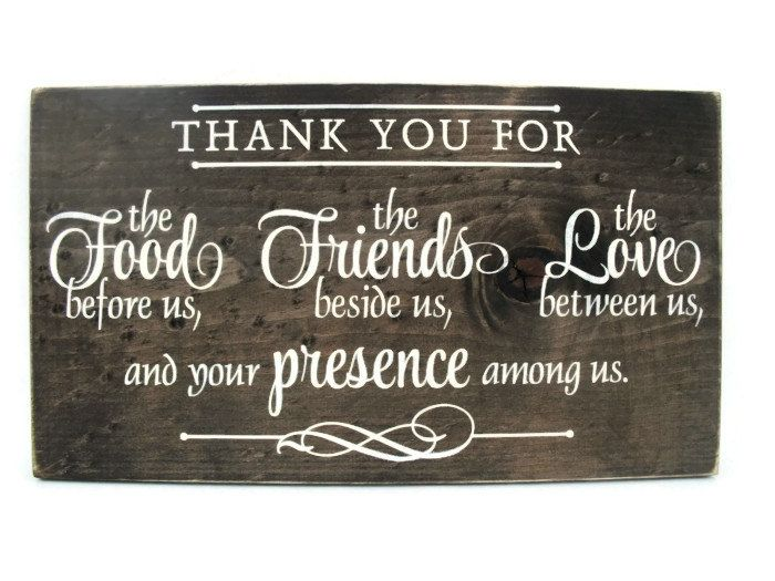 Christian Plaque Rustic Wood Sign Wall Decor