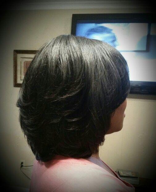 My Bomb Roller Wrap Hairstyles Black Hair Styles
