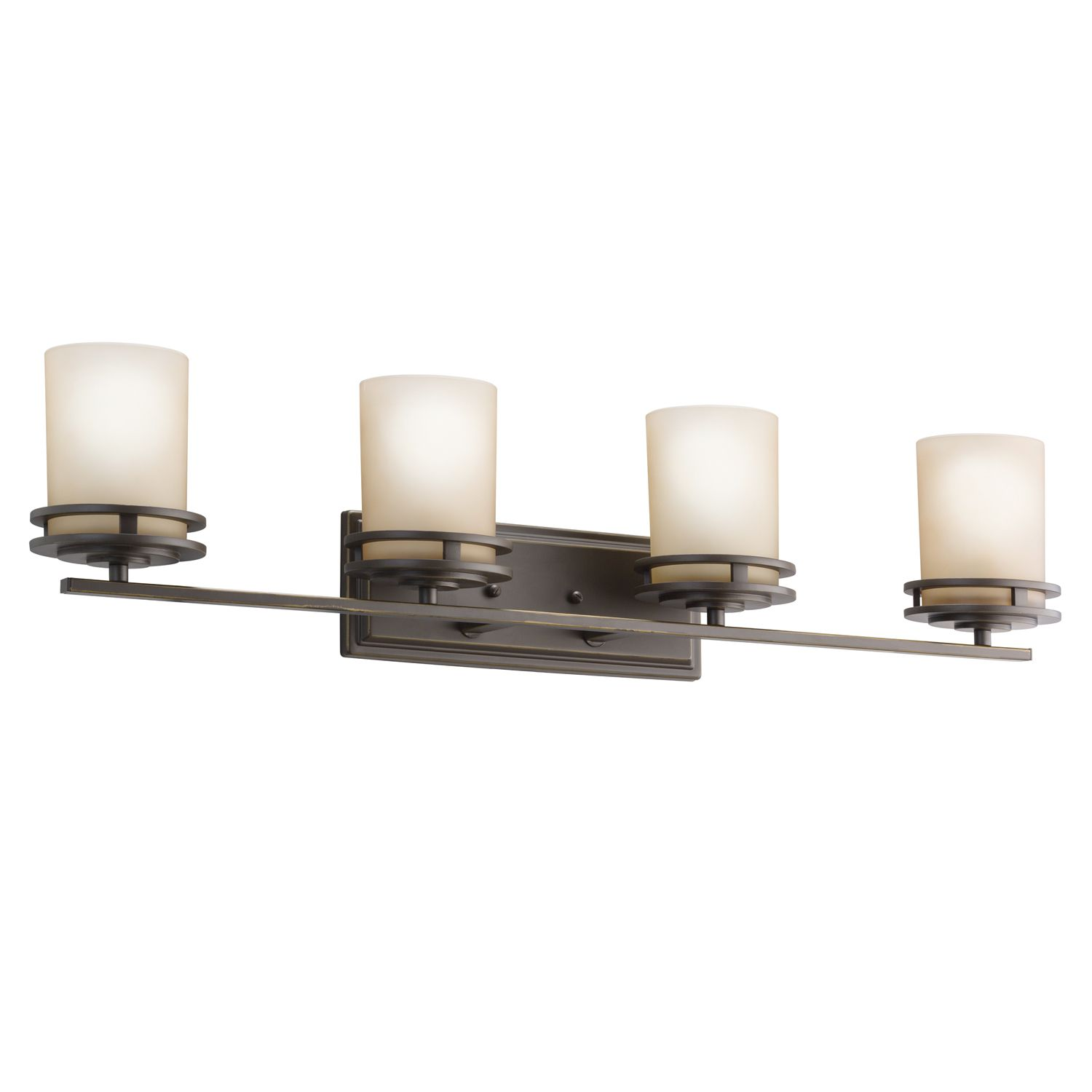 Photo of Kichler Lighting 5079OZ Hendrik Olde Bronze 4 Light Vanity