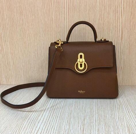 1ac46e41fc7 Cheap 2018 Mulberry Mini Seaton Bag Tan Small Classic Grain Leather ...