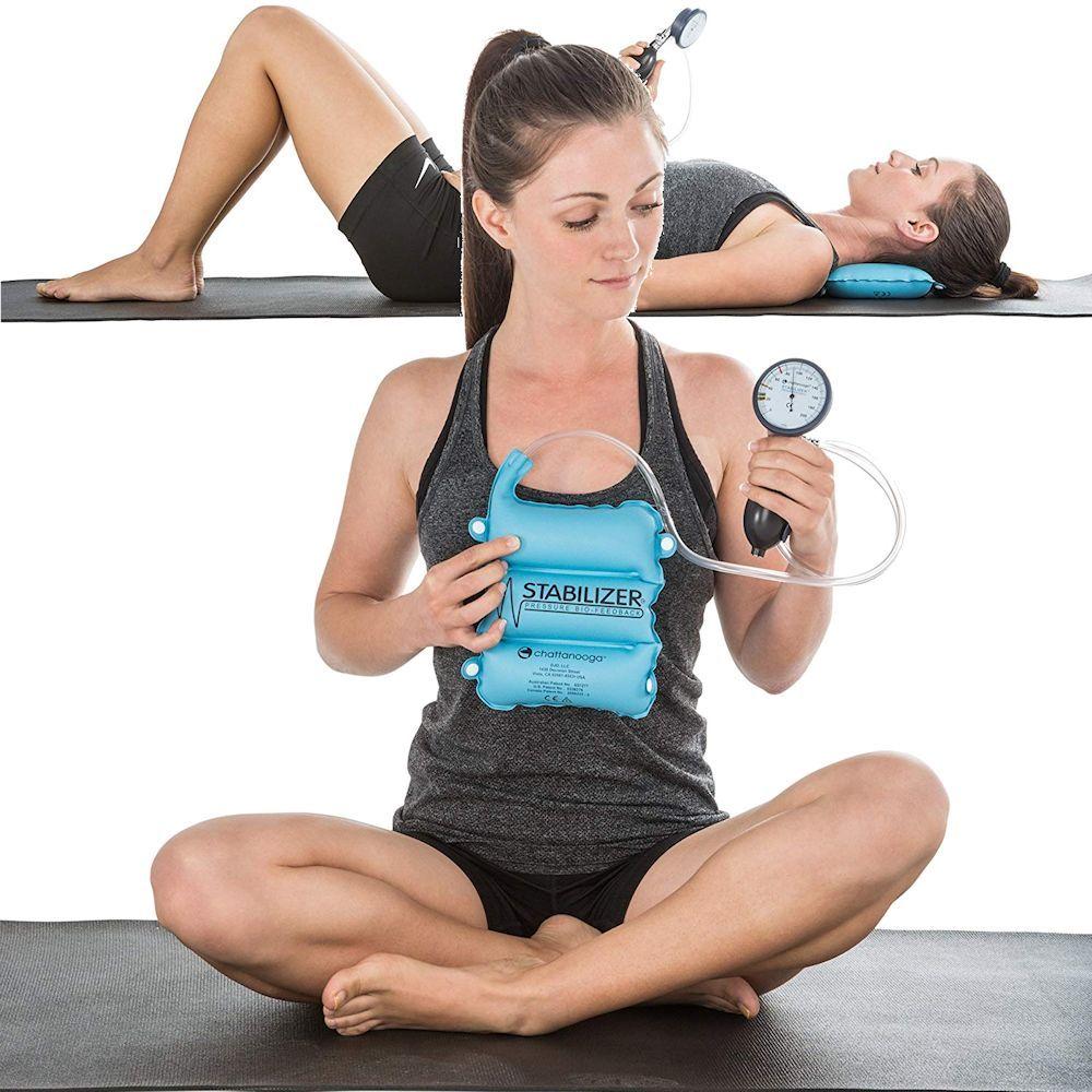 Exercise Stabilizer Pressure Biofeedback Device Neck