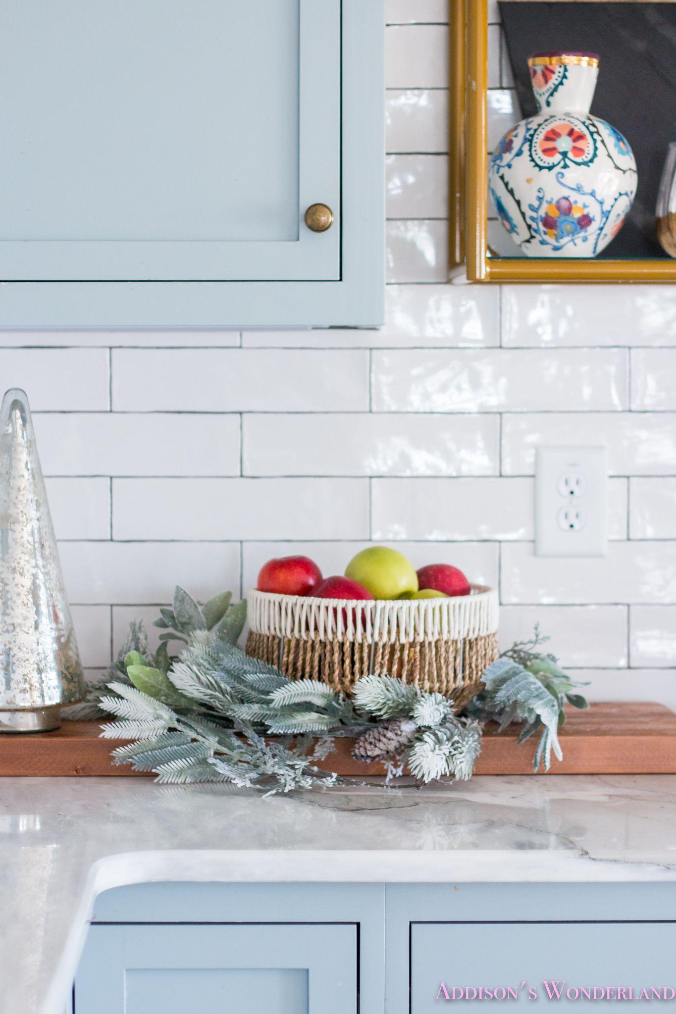 Inside Our Vintage Modern Style Holiday Kitchen... | Pinterest ...