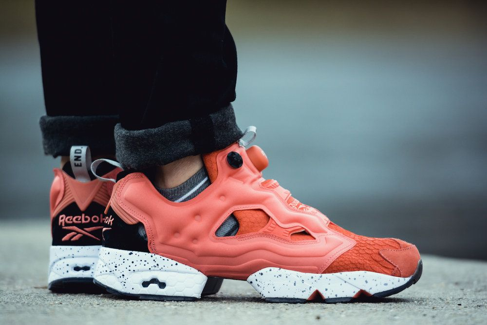 END. x Reebok Insta-pump Fury  Pink Salmon   98bb842ba