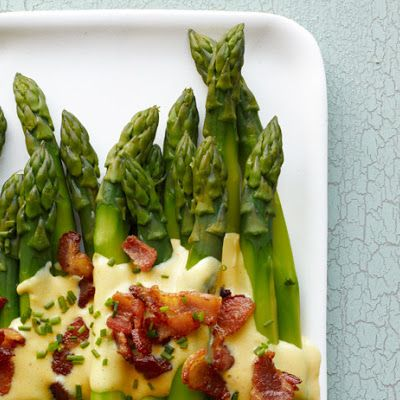 Asparagus With Bacon Sabayon