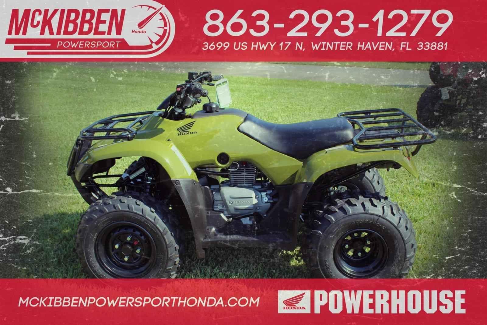 New 2017 Honda FourTrax Recon ATVs For Sale In Florida 2017 HONDA