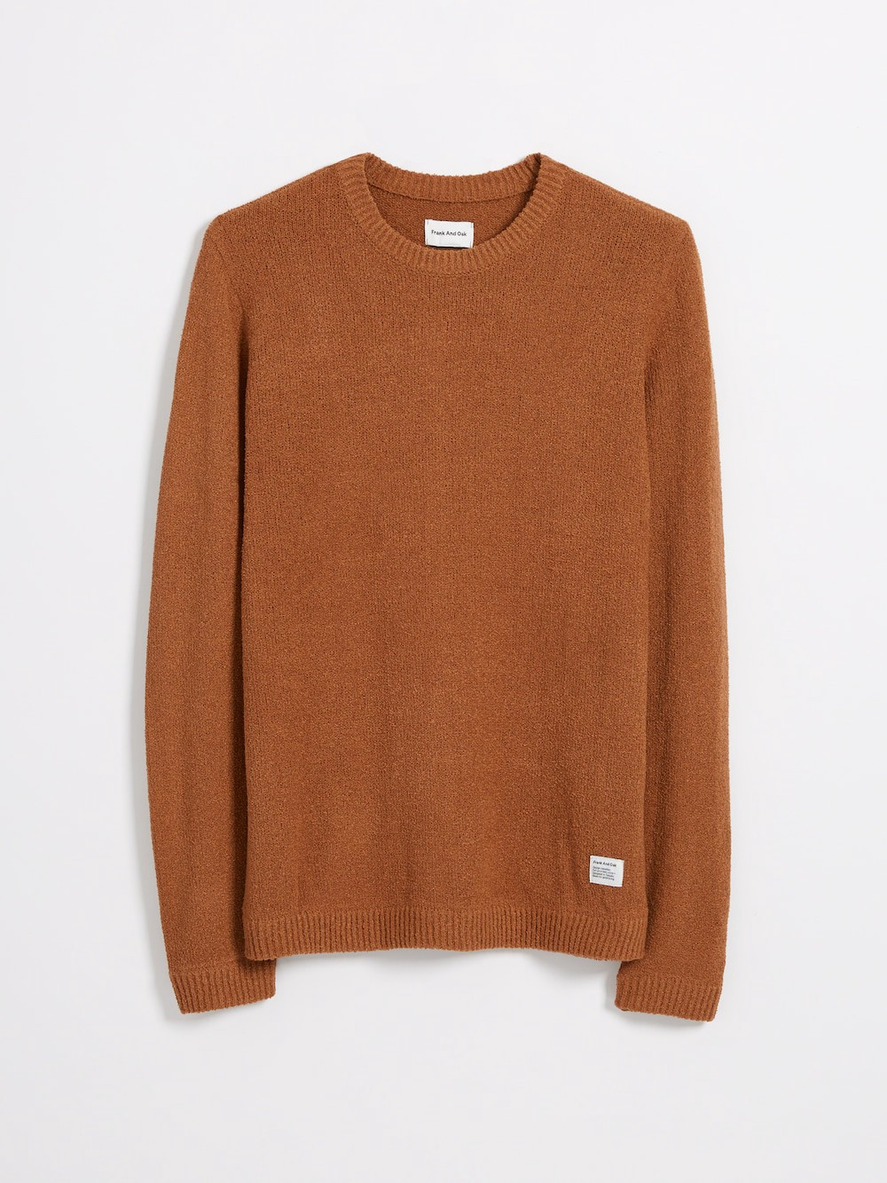 8f31dd8aee51 The Airy Summer Crewneck Sweater in Burnt Orange by Frank And Oak ...