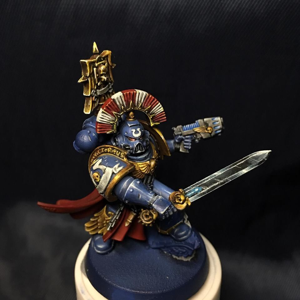 General Warhammer 40k Space Marines: Ultramarine Space Marine Captain