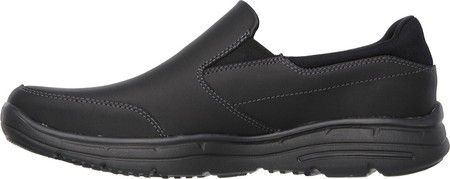 Skechers Men's Relaxed Fit Glides Calculous Slip On, Size: 8.5 WW, Black