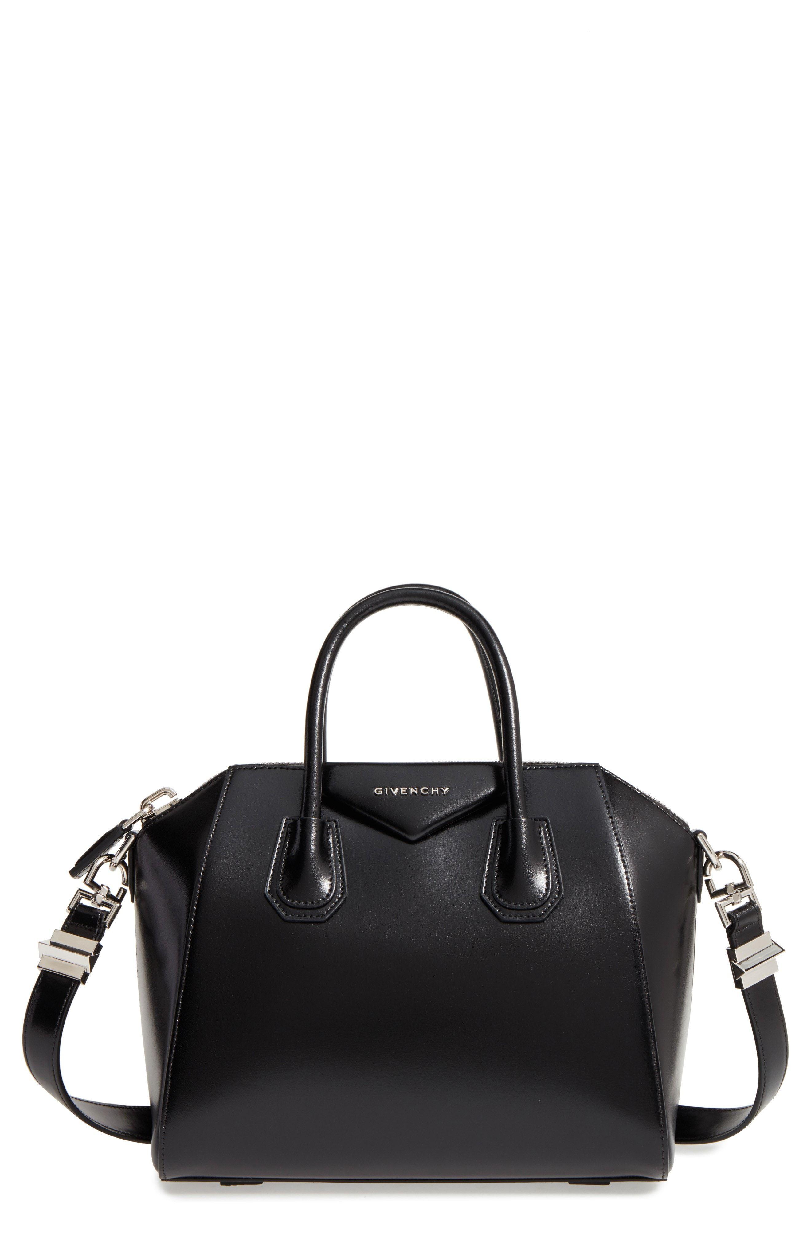 1fd99246d82 Givenchy Small Antigona Box Leather Satchel - Black | Bags | Leather ...