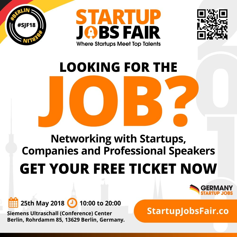 looking for the jobs networking with startups companies and professional speakers get your