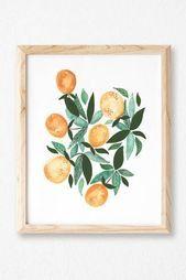 Lemons  Modern Watercolor Art Print  Arbor Army#fashionshoot #fashioninsta #fashiontrend #fashionworld #weddingband #weddingdiaries #weddingcard #weddingguest #weddingjakarta #nailsofig #nailblogger #housedesign #nailsdid