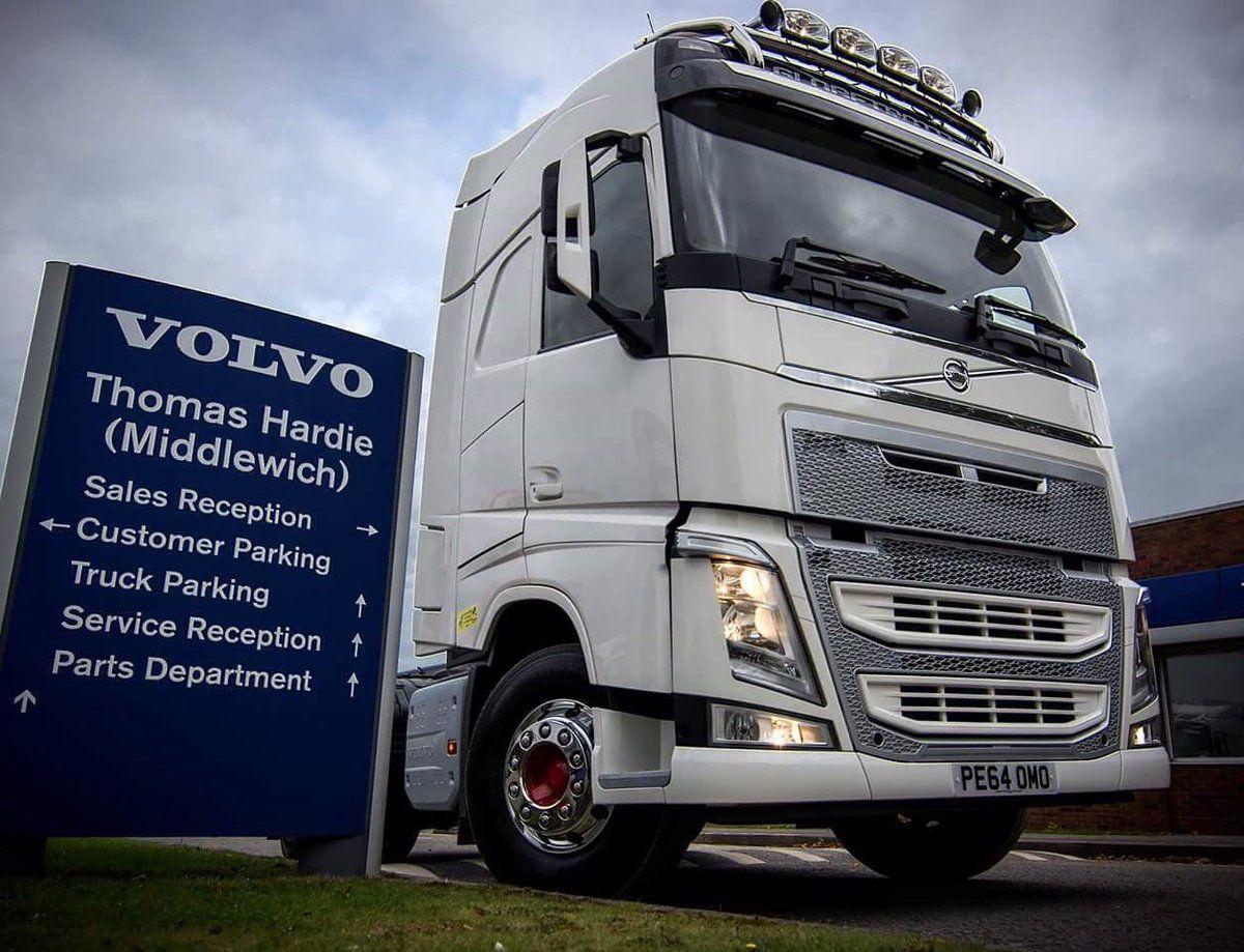 Thomas Hardie … | VOLVO TRUCKS #AUTOMOTIVEMARKETING