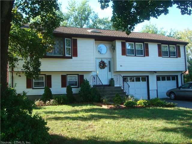 Very Nice Large RR on dead end street- Hardwood under all carpets on the 1st floor-HugeFFin Bsmnt-1 car gar use to be 2 now a hottub work out room or 2nd Family Room,3Season Porch overlooking a beautiful flower filled fenced yard Skylights in Kitchen Call Donna Connolly   $199,900