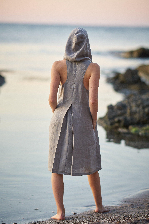 Linen Tunic Dress Linen Beach Dress Sleeveless Linen Dress Etsy Linen Dresses Sleeveless Linen Dress Linen Tunic Dress [ 3000 x 2000 Pixel ]