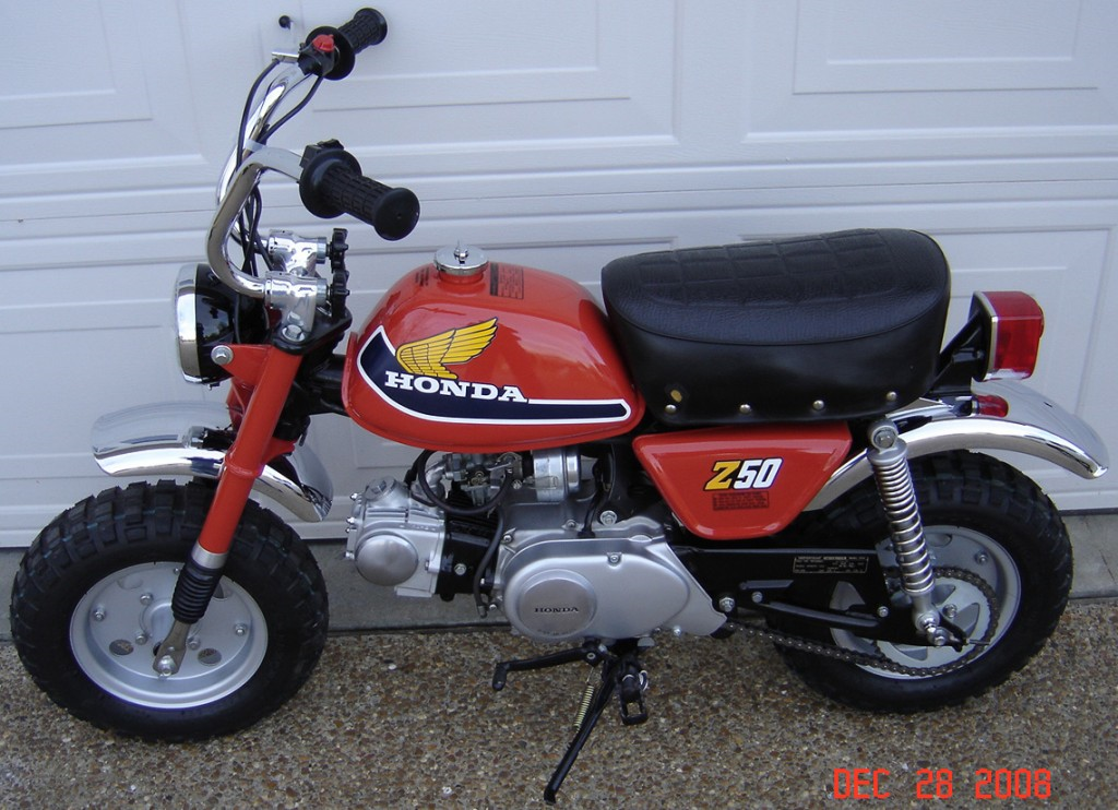 My Brother And I Shared This Honda Z50 This Was My First Ride