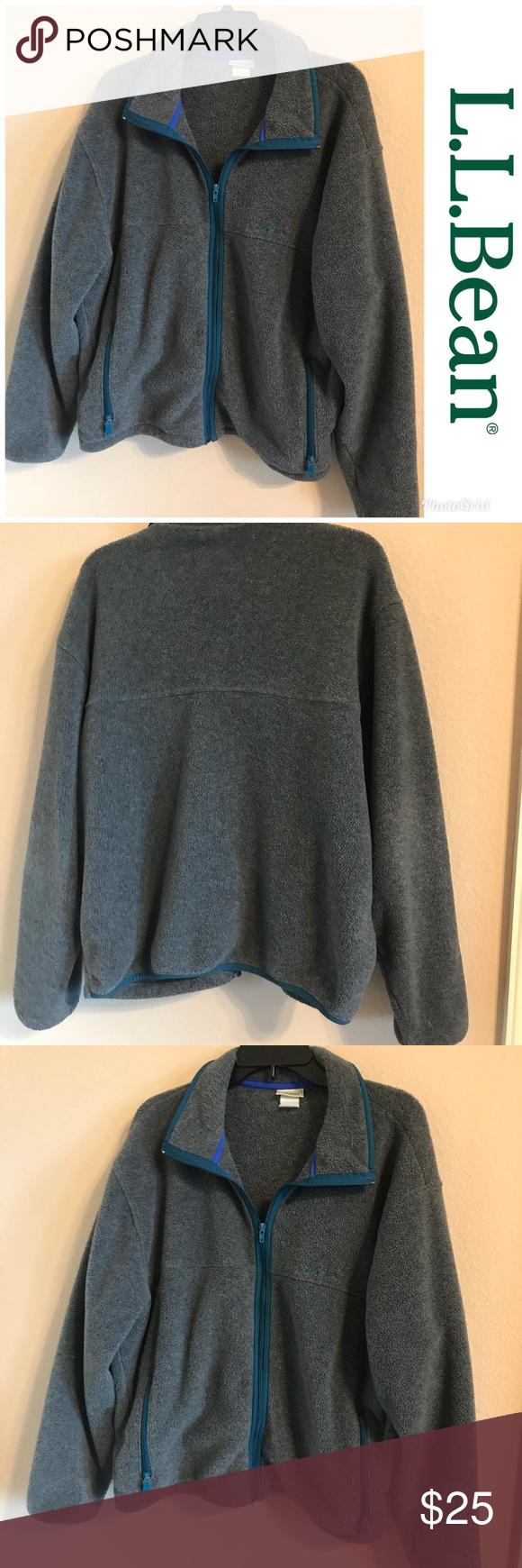 Vintage ll bean fleece jacket my posh closet pinterest