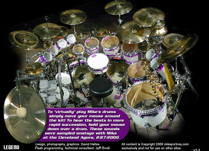 Drum Set DOUBLE BASE |     - great drum sounds  Lots of