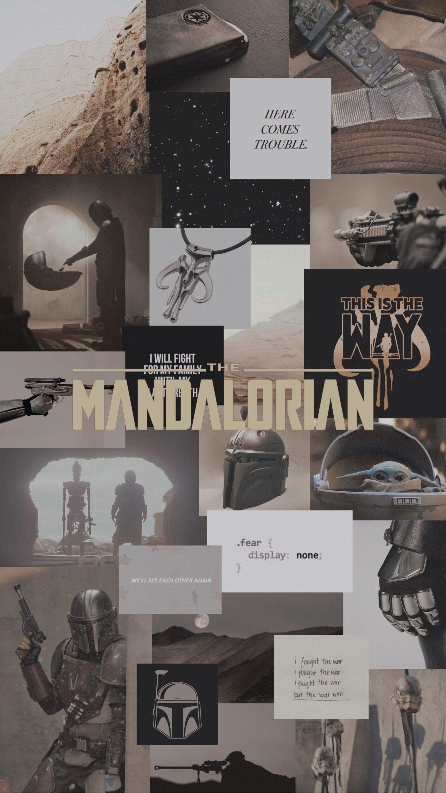 The Mandalorian wallpaper