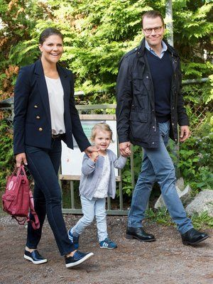 Prinzessin Victoria + Prinz Daniel: 1. Familienausflug mit ...