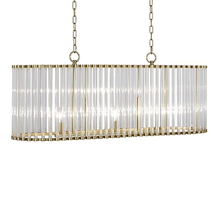 Robert Abbey Cole Chandelier Brass | Brass chandelier