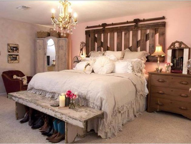 18 Charming Country Bedroom Designs That Will Delight You | study ...